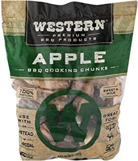 Western Premium BBQ Products Apple BBQ Cooking Chunks, 549 cu in (Pack of 1)