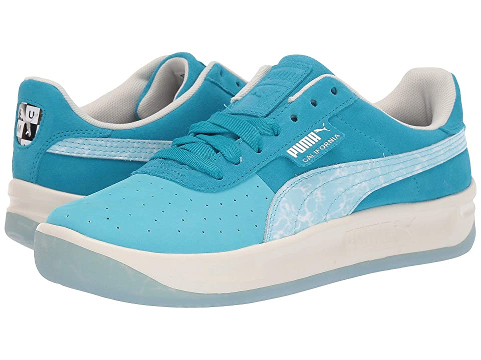 PUMA California Pool (Blue Atoll/Caribbean Sea/Whisper White) Men