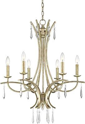 Amazon.com: CAPITAL iluminación 413801 Windsor 10 Luz 2 Tier ...