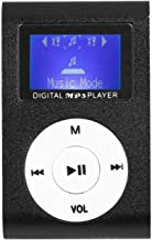 $30 » FQMAO Mini MP3 Player, Sports Clip-On Music Player Support Up 32GB, Mini Screen MP3 Player for Study Office Exercise Leisure,
