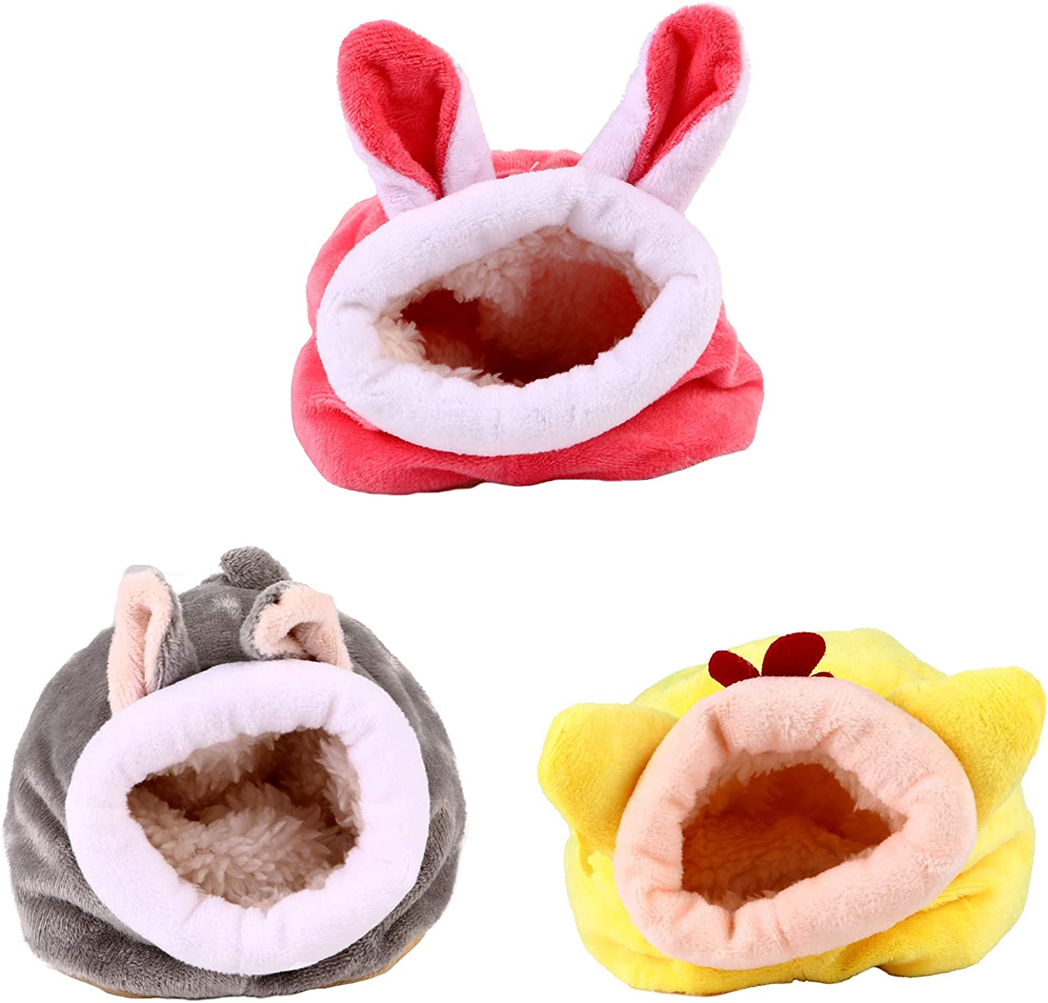 TEHAUX 3 Pcs Winter Warm Shipping included Hamster Small Gui Special price Animals Bed Soft Nest