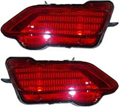 Pair Set Rear Bumper Reflector Light Lamp Units Replacement for Toyota RAV4 81490-0R010 81480-0R020