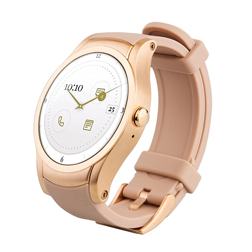 Wear24 Verizon Quanta Smartwatch 42mm WiFi + 4G Android (Gold)