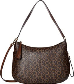Brown/Khaki/Luggage Saffiano