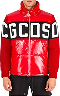 GCDS Giubbotto Uomo Rosso
