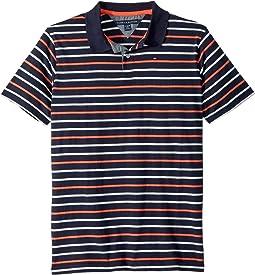Stripe Polo (Big Kids)