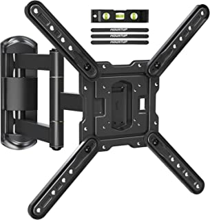 MOUNTUP TV Wall Mounts TV Bracket for Most 26-55 Inches TVs, Full Motion TV Wall Mount with Swivel and Extend 17.7 Inch, T...