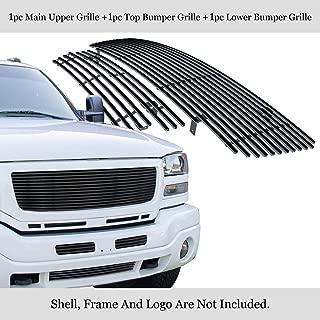 black billet grille gmc sierra