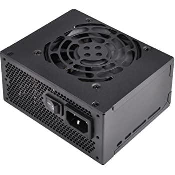 SilverStone Technology SFX Computer Power Supply 550 Watts with 80 Plus Gold and Fixed Cables SST-SX550