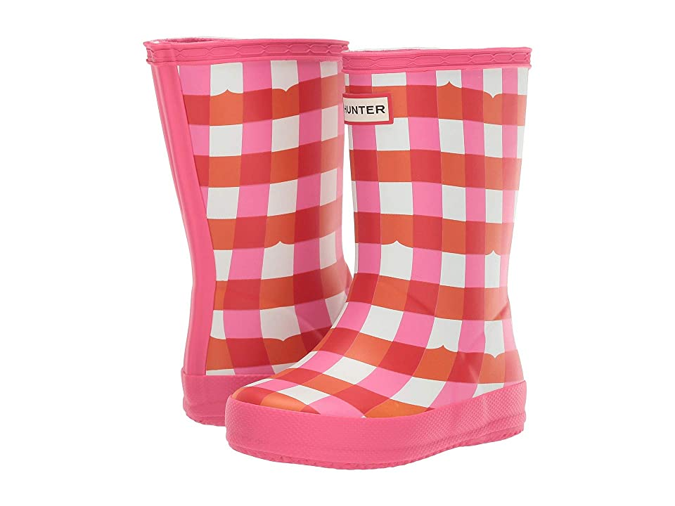 Hunter Kids First Gingham (Toddler/Little Kid) (Arcade Pink) Girls Shoes