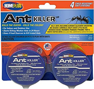 PIC Homeplus Ant Killer, Child Resistant Bait Stations, 6 Count (Pack of 2)