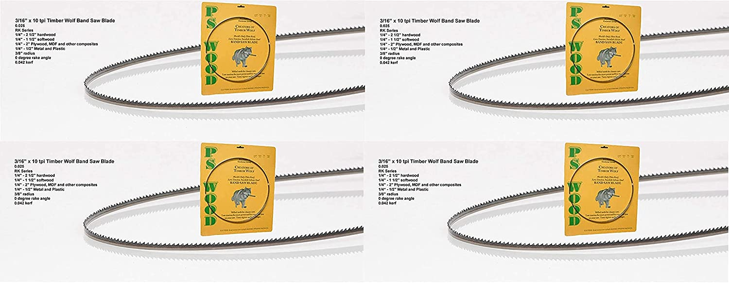 Timber Wolf 正規激安 Bandsaw Blade 1 80 x 4 お歳暮 TPI 2