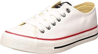 Zapatillas De Lona Mustang 13991 - Blanco