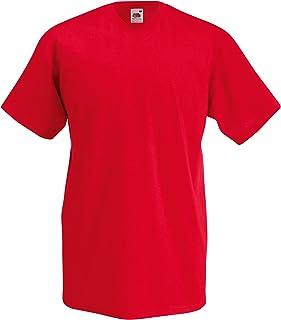 Fruit of the Loom Mens Valueweight V-Neck, Short Sleeve T-Shirt