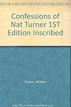 Confessions of Nat Turner 1ST Edition Inscribed