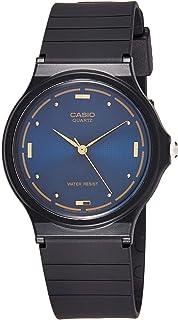Casio Men's Blue Dial Resin Analog Watch - MQ-76-2ALDF