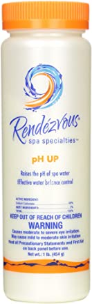 Rendezvous spa specialists pH Up, 1-Pound