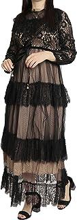 Mlbas_168-$P Women's Lace Long Dress