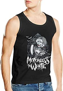 Motionless in White Mens Casual Sleeveless Tank Vest Tshirts