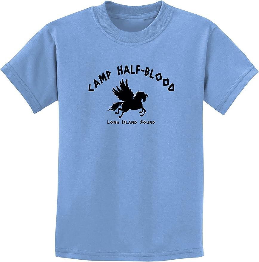 Youth Camp Half-Blood T-shirt-orange-medium