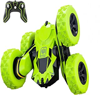 Remote Control Car, Apsung RC Stunt Car,4WD Rechargeable 2.4Ghz Remote Control Car, Double Sided Rotating Tumbling 360°Fli...