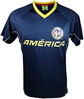 Rhinox Club America Soccer Official Adult Men Soccer Poly Jersey P014