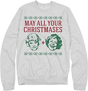 May All Your Christmases Bea White: Unisex Gildan Crewneck Sweatshirt