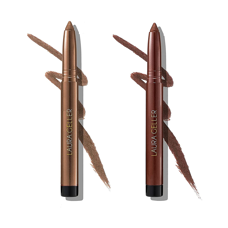 High material LAURA GELLER NEW YORK Kajal 2021new shipping free Smooth Eyeliner Duo D Kohl Longwear