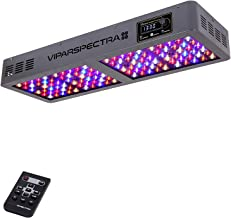 VIPARSPECTRA Timer Control Series TC600 600W LED Grow Light - Dimmable Veg/Bloom Channels 12-Band Full Spectrum for Indoor Plants