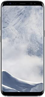 Smartphone Samsung Galaxy S8 color plata. AT&T pre-pago