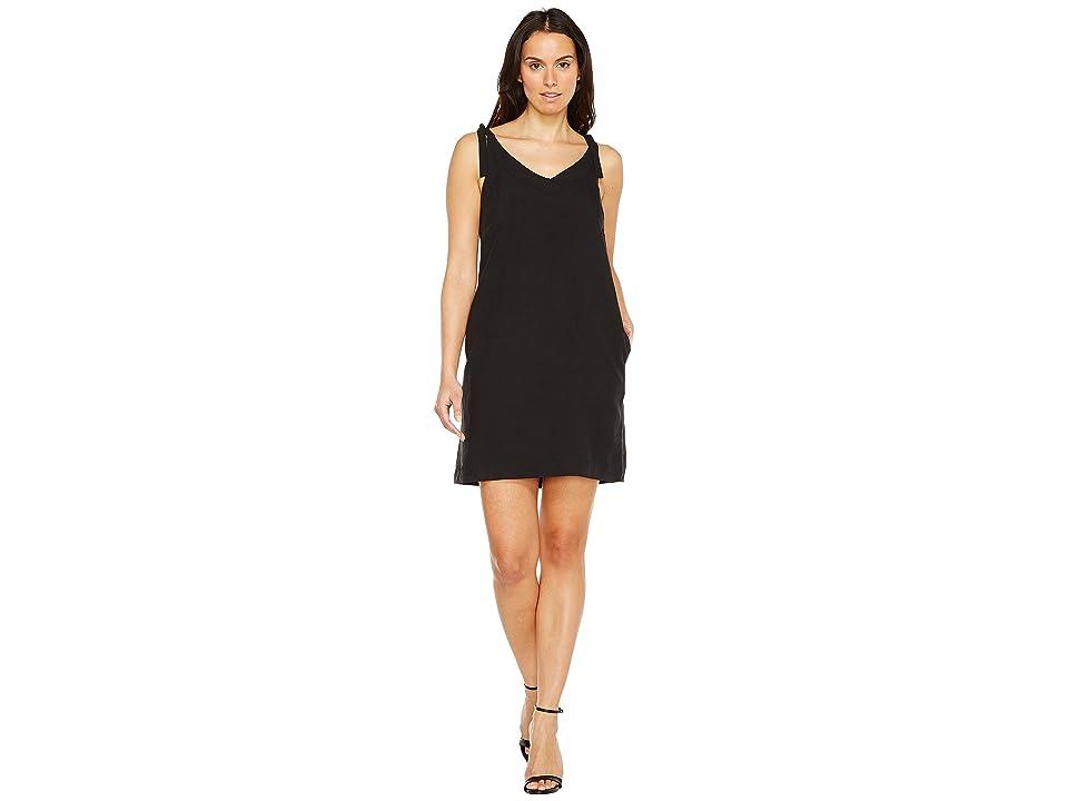 Lilla P Tie Strap Dress (Black) Women
