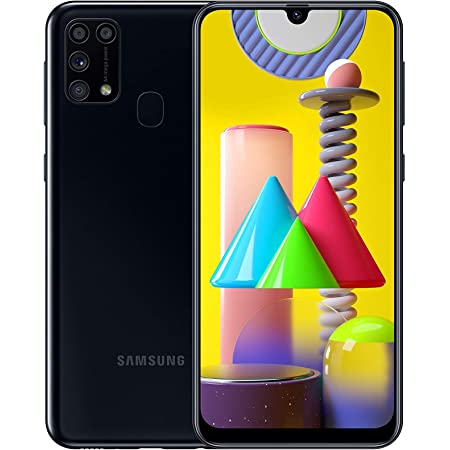 "Samsung Galaxy M31 - Smartphone Dual SIM, pantalla de 6.4"" AMOLED FHD+, Cámara 64 MP, 6 GB RAM, 64 GB ROM Ampliables, Batería 6000 mAh, Android, , Color Negro [Exclusiva Amazon]"