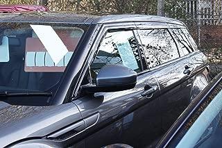 AC WOW 4x Wind Deflectors Compatible with B M W 3 Series E91 Wagon Estate Touring 2004 2005 2006 2007 2008 2009 2010 2011 2012 2013 Acrylic Glass WeatherShields Visors