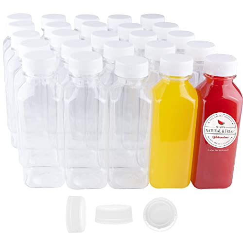Clear 20oz Plastic Bottles With Pump 16 Pack