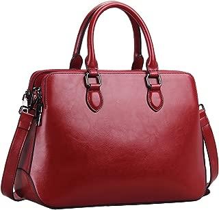 Leather Womens Handbags Totes Top Handle Shoulder Bag Satchel Ladies Purses