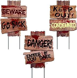 Liecho self-Designed Halloween Decorations Yard Signs...