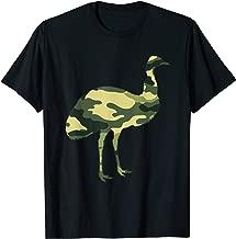 Military Emu Camo Men Print US Ostrich Bird Veteran Gift T-Shirt