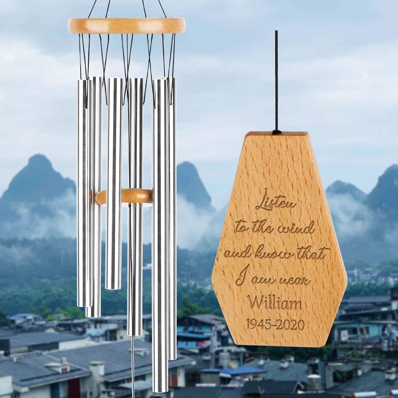 Personalized Wind Atlanta Mall Chimes Custom Miami Mall Memorial Tribute W