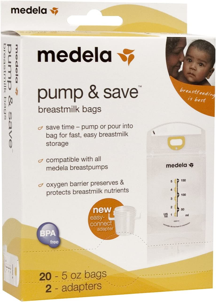Medela Pump San Jose Mall and Save Bags NEW 20 Count Breastmilk