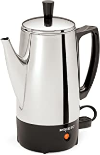 Best presto 02822 6-cup stainless-steel coffee percolator Reviews