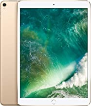 Apple iPad Pro (10.5-inch, Wi-Fi + Cellular, 512GB) - Gold (Previous Model)