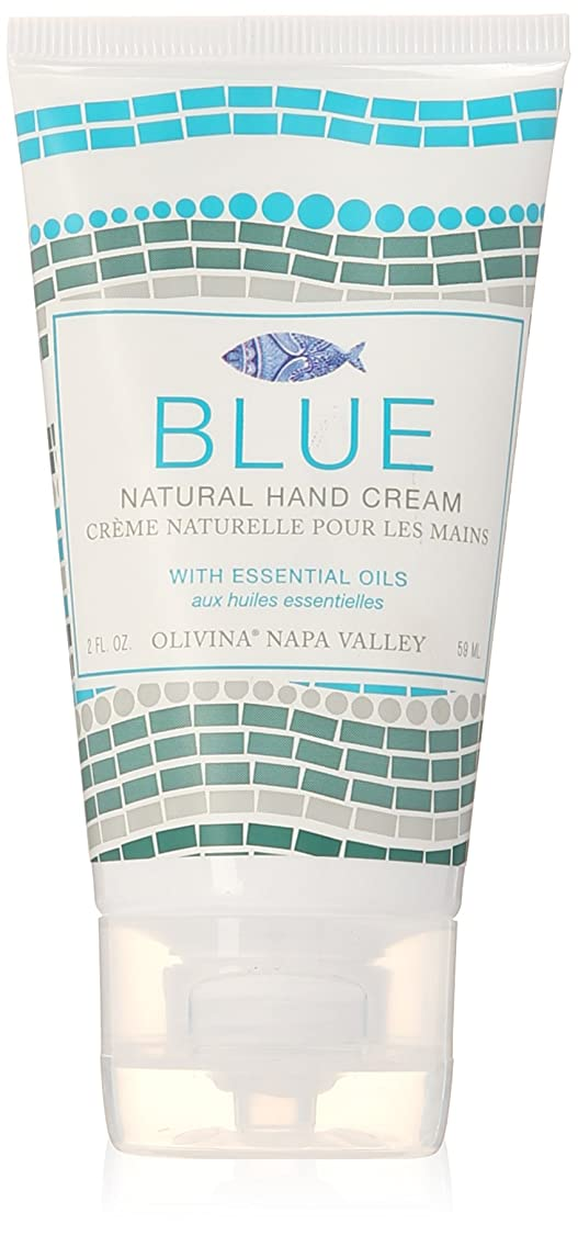 おいしい作動する差し引くNapa Valley Apothecary blue ブルー ハンドクリーム ブルー hand creme Blue ナパバレーアポセカリー Olivina オリビーナ