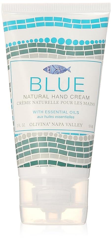 ひどい増強するマガジンNapa Valley Apothecary blue ブルー ハンドクリーム ブルー hand creme Blue ナパバレーアポセカリー Olivina オリビーナ