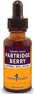 Herb Pharm Partridge Berry (Squaw Vine) Liquid Extract - 1 Ounce