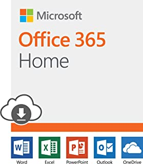 Microsoft Office 365 Home | 12-month subscription, up to 6 people, PC/Mac Download