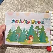 Rotuladores para puntuar Ohuhu 10 colores Bol/ígrafos para pintura puntos 60 ml Incluye un libro de actividades de 30 p/áginas marcadores de bingo Rotuladores no t/óxicos para ni/ños