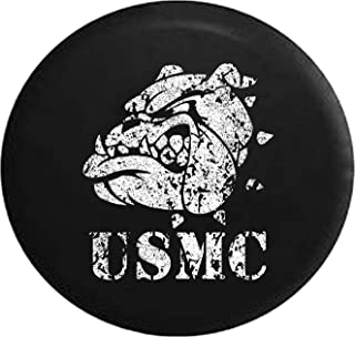 Kill Em All Let God Sort Them Out Punisher Skull Shield Military ISIS Spare Tire Cover OEM Vinyl Black 33 in Pike Outdoors Camo