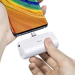 iWALK 超小型 モバイルバッテリー 4500mAh USB-C コネクター内蔵 直接充電 コードレス コンパクト Galaxy/Xperia/Nintendo Switch/Nexus/HUAWEIなど充電対応 PSE認証済 (Androi...