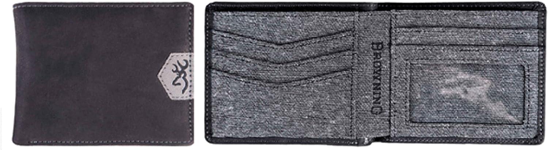 Browning Men's Durango BiFold Wallet   Black