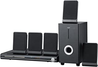 Sylvania Curtis 5.1 Channel Progressive Scan DVD Mini Bookshelf Home Theater Speaker..